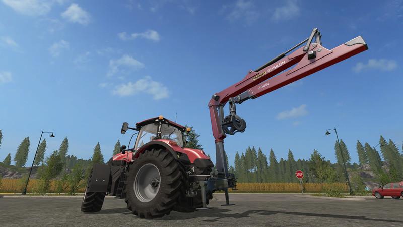 Epsilon Palfinger M80f Mounted Crane For Tractors V 1 3