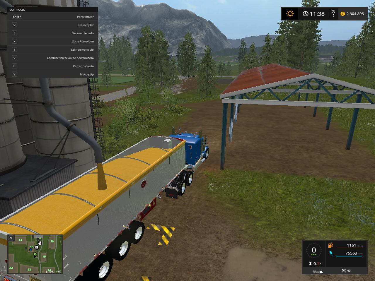 Mac Dump V1 Trailer on end dump semi trailers