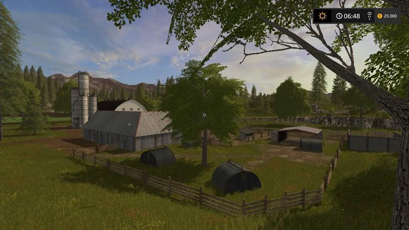 Us Valley V FS Farming Simulator Mod FS Mod LS - Us map mod fs 17