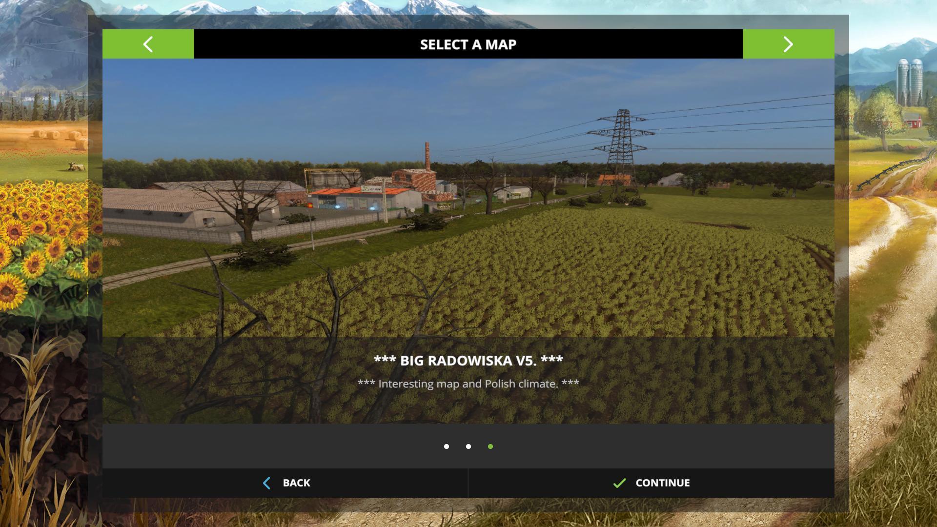 BIG RADOWISKA FARMING SIMULATOR 17 V5 FS2017 Farming Simulator