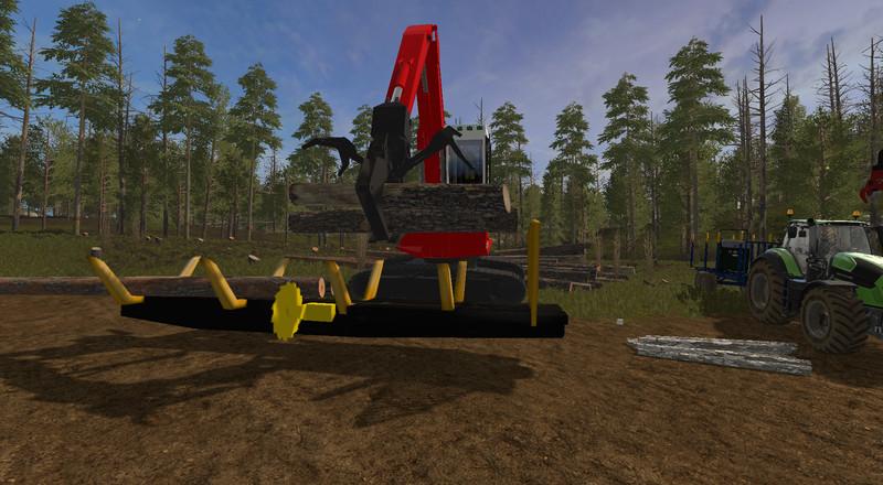 Harvester Birken 2 0 for LS17 - Farming Simulator 2017 mod, FS 17