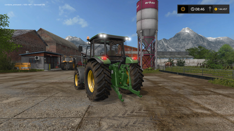 John Deere 5085M V 1 2 LS 2017 - Farming Simulator 2017 mod, FS 17