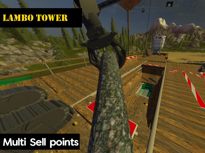 LAMBO TOWER V1 0 LS 17 - Farming Simulator 2017 mod, FS 17