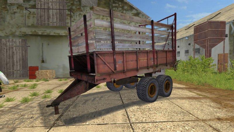 PRT-10 SILAGE Trailers - Farming Simulator 2017 mod, FS 17