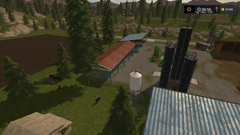 Silage Silo UPK V 0 6 LS17 - Farming Simulator 2017 mod, FS