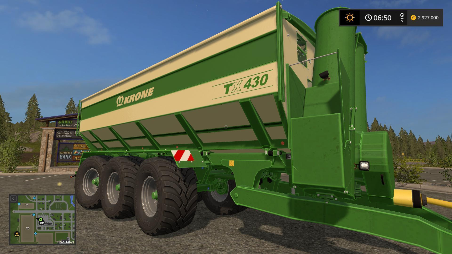 KRONE TX 430 HIGH CAPACITY V1 XX for FS17 - Farming Simulator 2017