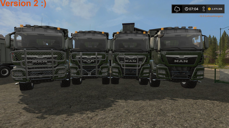 Man Tgs With Fliegl Extension V 2 For Ls17 Farming