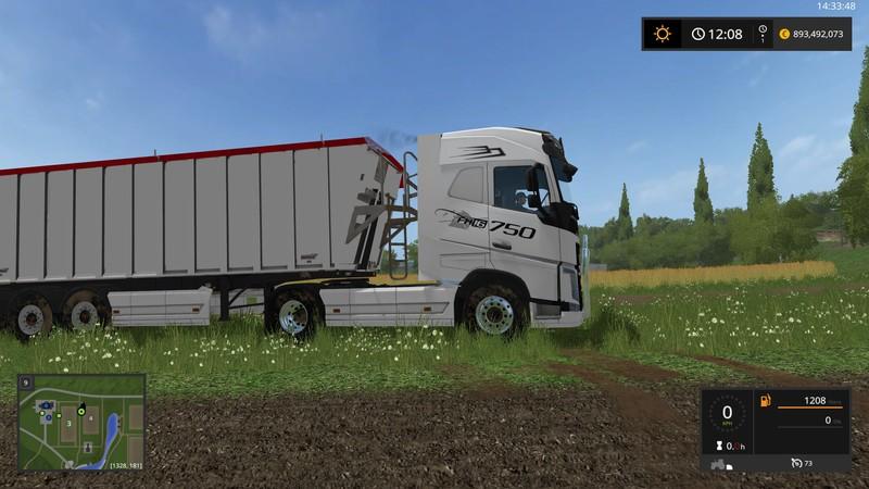 Volvo-FH16 V 1 0 for FS17 - Farming Simulator 2017 mod, FS
