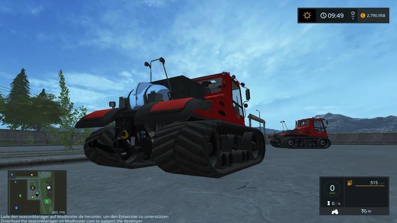 Kässbohrer Pistenbully Silage Edition V 2 0 for FS 2017 - Farming