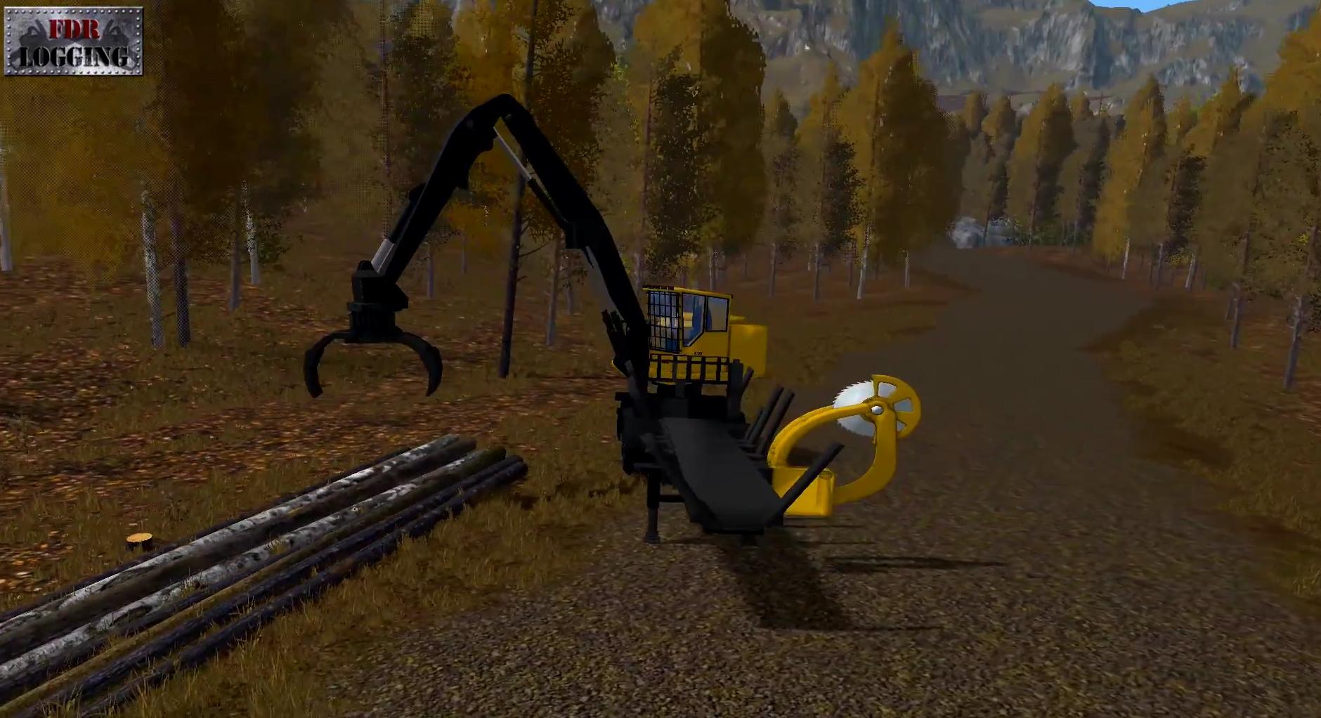 Bucksaw Loader For Fs 17 Farming Simulator 2017 Mod Fs