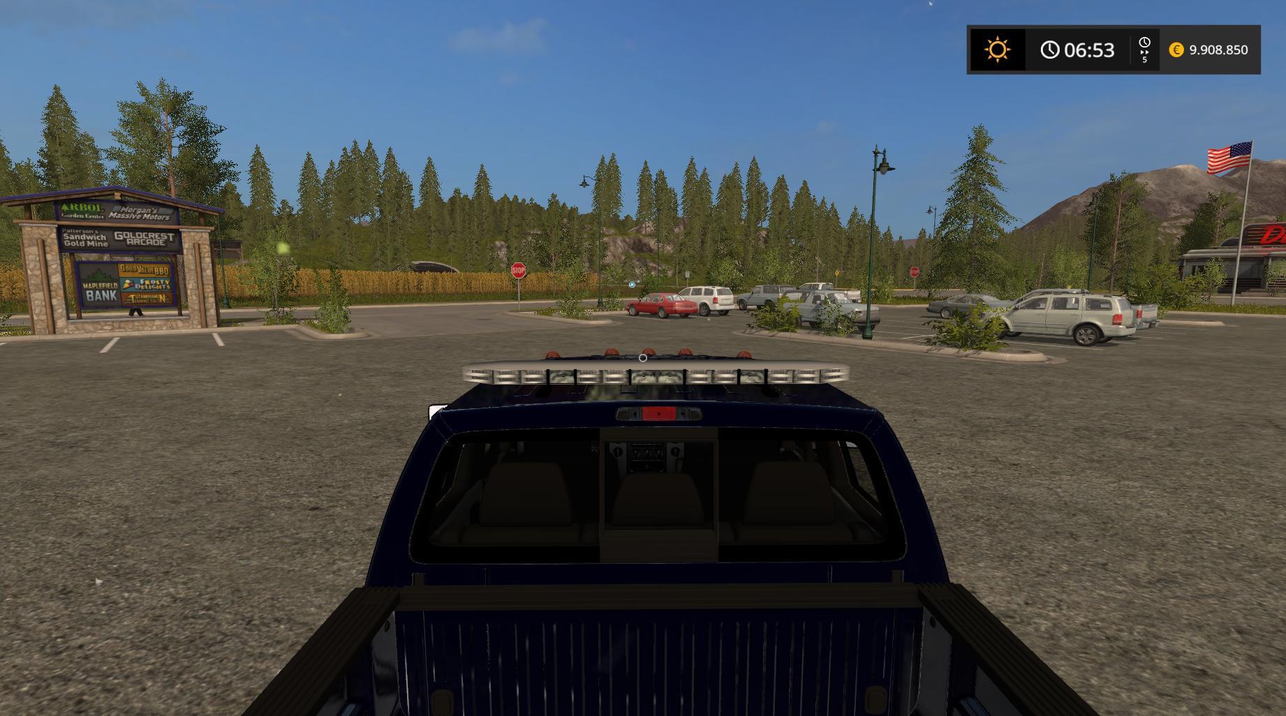 Ford F350 Work Truck V1 1 Fs17 Farming Simulator 2017
