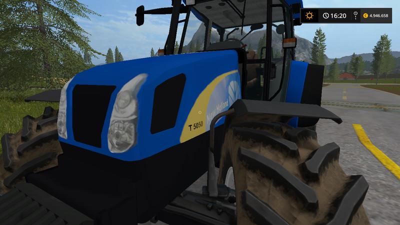 New Holland T5050 V 1 0 0 0 LS2017 - Farming Simulator 2017