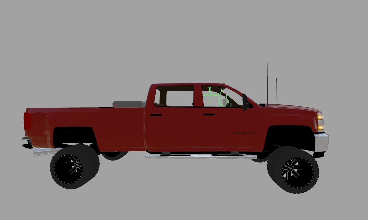 chevy silverado 3500hd duramax v1 0 for fs 2017 farming simulator 2017 mod fs 17 mod ls 17. Black Bedroom Furniture Sets. Home Design Ideas