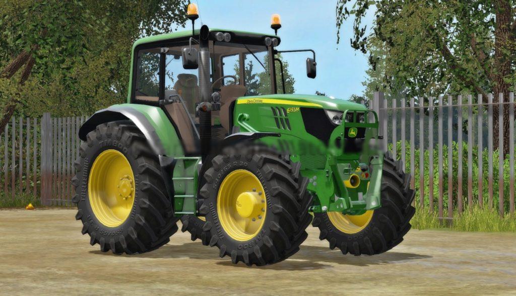 John Deere 6115M for LS17 - Farming Simulator 2017 mod, FS 17 mod, LS 17