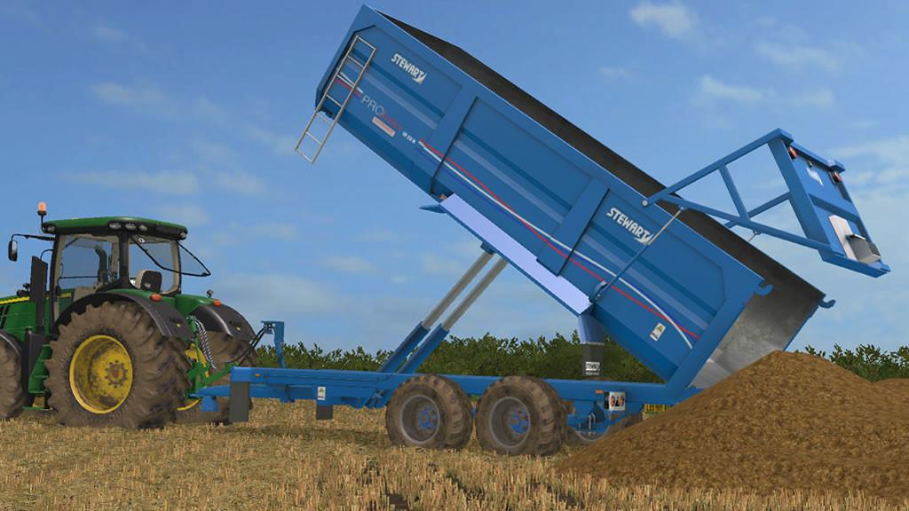 STEWART PS18-23H V2 1 0 0 Trailer - Farming Simulator 2017 mod, FS