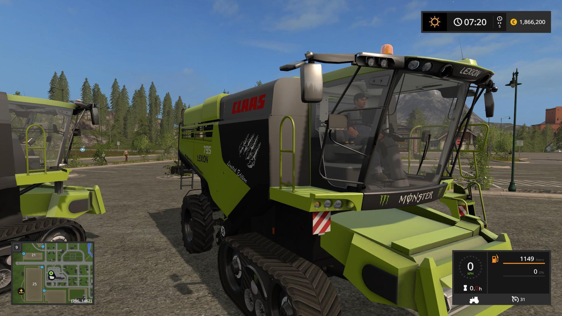 claas lexion 795 monster v1 0 ls 17 farming simulator 2017 mod fs 17 mod ls 17. Black Bedroom Furniture Sets. Home Design Ideas