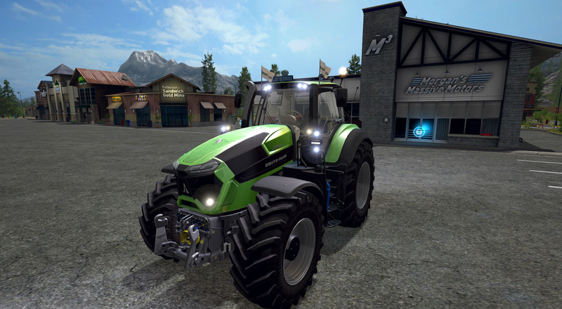 Led Strobe Lights For Trucks >> Deutz Fahr Series 9 V 2.0 for LS 17 - Farming Simulator ...