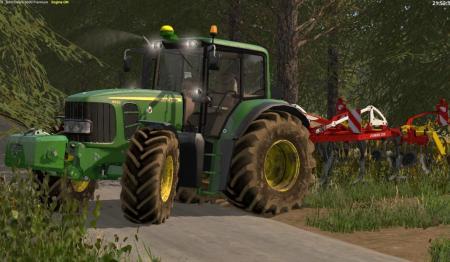 JOHN DEERE 6030 LS 17 - Farming Simulator 2017 mod, FS 17 mod, LS 17