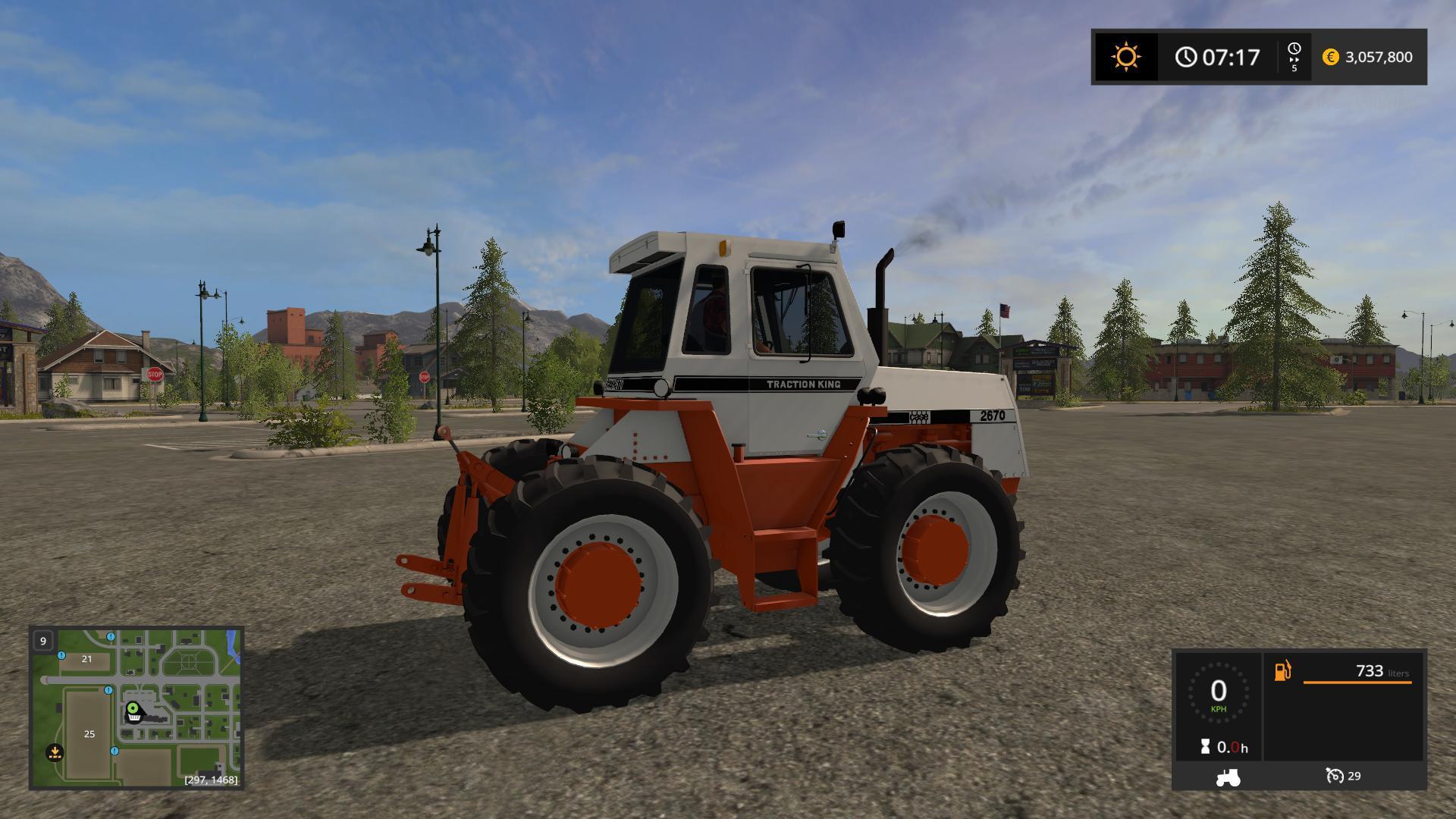 OLD IRON CASE 2670 V1 0 for FS17 - Farming Simulator 2017 mod, FS 17