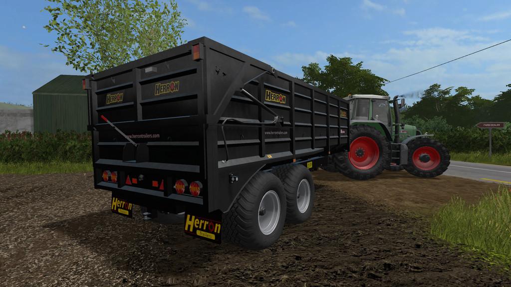 Herron 16t H1 Silage LS 17 - Farming Simulator 2017 mod, FS