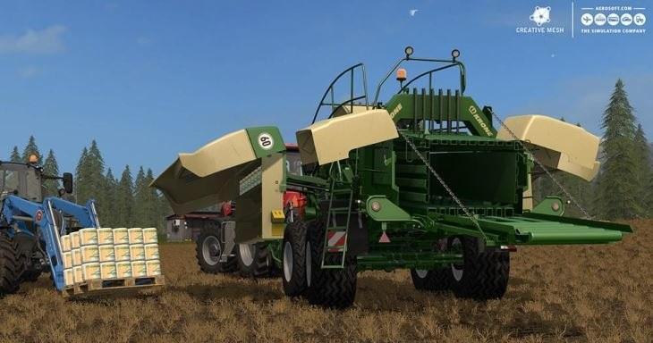 ADD-ON STRAW HARVEST V 1 0 FS 17 - Farming Simulator 2017 mod, FS 17