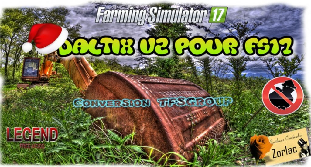 DALTIX V2 0 for LS 17 - Farming Simulator 2017 mod, FS 17