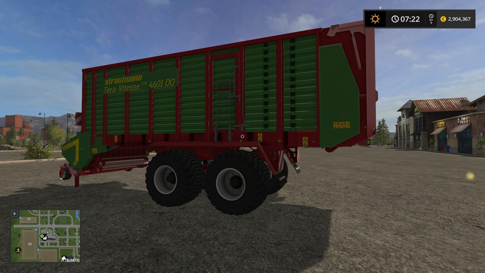 STRAUTMANN TERA VITESSE 4601 V2 0 0 for LS 17 - Farming